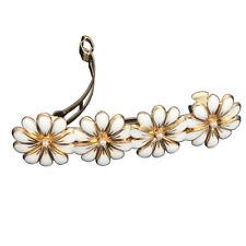 Fashion Women Flower Hairpin Spring Clip Hair Clips Ponytail Holder Accessories