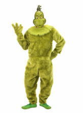 elope The Grinch Polyester Jumpsuit for Adults - L/XL
