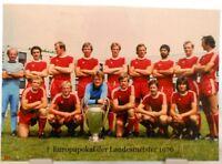 Bayern München + Europapokal Landesmeister Winner 1976 Fan Big Card Edition A126