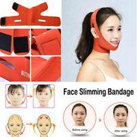 Facial Thin Face Slimming Bandage Mask Belt Shape V Lift Reduce Double Chin