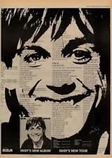 Iggy Pop Lust For Life UK Tour advert 1977 MM-DFKJ
