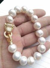 NEW HOT HUGE AAA 11-13MM South Sea White Pearl Bracelet 7.5''