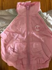 Adorable Majestic SF Giants Pink & Grey Windbreaker & Pants Warmup Outfit 12 Mos