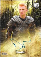 Walking Dead Road to Alexandria Auto Autograph Card Daniel Newman AC-DN