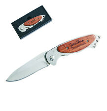 9 Ea. Personalized Pocket Knife Wedding Party Gift Groomsman Usher Best Man