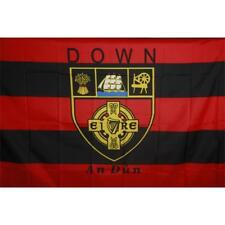 Down GAA Official 5 x 3 FT Flag - Large Crested Irish Gaelic Football Hurling