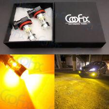 NEW 2x 9006 HB4 3000K Yellow 100W High Power CREE LED Fog Light Driving Bulb DRL