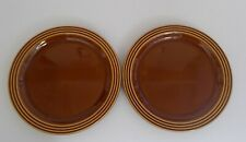 Vintage Retro Hornsea Pottery Heirloom Made in England Pair of Tea Side Plates.