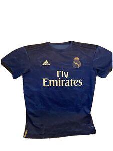 "Adidas ""Fly Emirates"" Jersey Navy Blue W/gold ADULT size MEDIUM"
