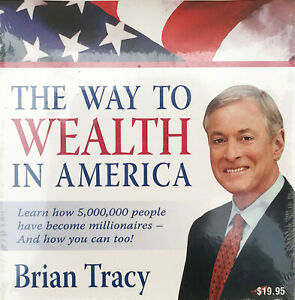 THE WAY TO WEALTH IN AMERICA Brian Tracy CD NEW SEALED