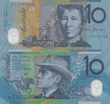 Australia 10 Dollars (2013) - Horserider/Ox Cart/p58g UNC
