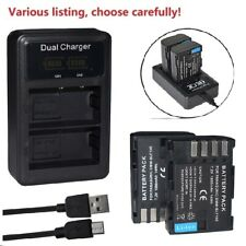 Battery or charger for Panasonic DMW-BLF19 Lumix DMC-GH4KBODY GH4 DC-G9 DC-GH5S