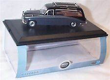 OXFORD DIECAST 1/43 Daimler Hearse Black/Carlton Grey New in Case DS008