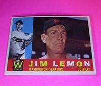 1960 Topps #440 WB Jim Lemon Senators NmMt High Grade Sharp!