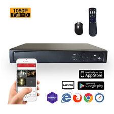 SVD 8CH DIGITAL SURVEILLANCE RECORDER HD-TVI 1080P H.264 TRUE-HD DVR W/ 1TB HDD