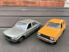 Solido Peugeot 305 & Solido Talbot Horizon - Nice Retro Joblot 1/43