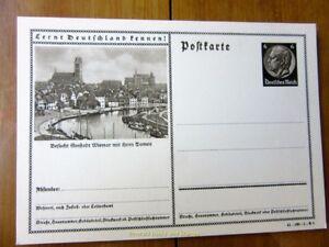 """EBS 1934 """"Lernt Deutschland Kennen"""" P236 - Wismar mit ihnen Domen 9389"""