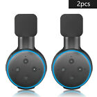 2X Wall Mount Holder Cradle Stand Fit For Amazon Echo Dot 3nd Generation Black