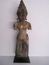 Antique Khmer Angkor Wat Buddha figure