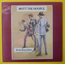Mott The Hoople – All The Young Dudes    Vinyl  LP  Bowie  NM