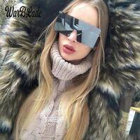 Oversize Big Large Futuristic Shield Xl Visor 2019 Style Polarized Sunglasses