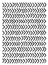 ARROWS Background 4.25 x 5.75 Darice Embossing Folder A2 30041275