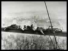 Upi Bettmann Sleeping above Manhattan Poster Bild Kunstdruck & Alurahmen 60x80cm