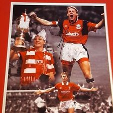 Nottingham forest stuart pearce signed picture