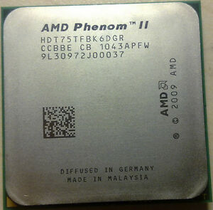 AMD Phenom II X6 1075T CPU Processor HDT75TFBK6DGR 3GHz AM3 6-Core 125W Tested