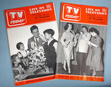 1951 Regional Tv Listing 2 December Magazines Walt Disney Christmas Show Detroit