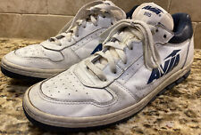 RARE Vintage 80's AVIA 805 Basketball Tennis Shoes Sneakers Blue & White Size 10