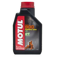 Motul 800 2T Factory Line Off Road (1 Litre) 100% synthetic premix