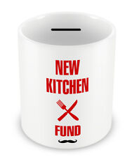 New Kitchen Fund Money Box - PIGGY BANK Savings DIY Chef Coin pot shrapnel #89
