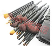 Set 18 pennelli Trucco Make Up Professionali + Pochette set Cosmetic Brush