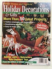 BH&G HOLIDAY DECORATIONS & GIFTS Magazine, Full Size Wood Patterns, 12 Days of