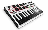 AKAI MPK mini MK2 WHITE professional MIDI keyboard controller 8pad Limited F/S
