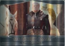 Game Of Thrones Valyrian Steel Metal Base Card #55 Ser Rodrik Cassel