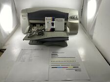 HP DeskJet 1220C Standard Inkjet Printer Low Page Count 2216 /NEW INK/Cable