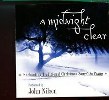 John Nilson / A Midnight Clear -  Traditional Christmas Songs On Piano - MINT