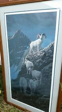 Charles Gause Framed Print. Hand signed and numbered. 233/300