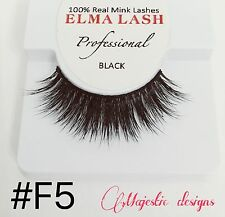 3D Real Elegant Mink Eyelashes Makeup Thick Black Eye Lashes #F5
