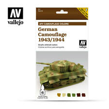 AIRBRUSH PAINTS - VALLEJO AFV CAMOUFLAGE - GERMAN CAMOUFLAGE 1943/1944 - 78.414
