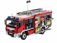 REVELL - 7452 -  MAN mit Schlingmann Feuerwehraufbau 1:24  (Bausatz)