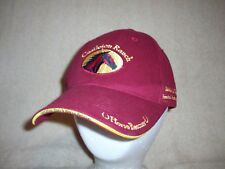 CASTLETON RANCH Horse Rescue Hat Ball Cap Dark Red Adjustable