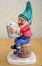 Goebel Figurine Co-Boy Well 514 Sepp The Beer Buddy Tm5 Gnome Germany Mint