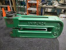 UNIPUNCH 8-BX-2 1/4 FRAME PUNCH & DIE INCLUDED!!!