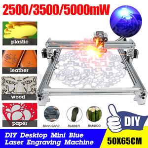 CNC Laser Graviermaschine DIY Lasergravur 5000mW Desktop Gravurbereich 65x50cm