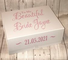 Personalised For My Beautiful Bride Gift Box