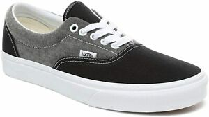 VANS UNISEX ERA SKATE SHOES CHAMBRAY CANVAS TRAINERS OUTSOLE SIZE UK 9