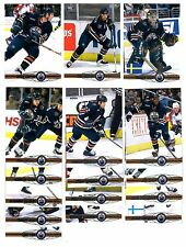 1X EDMONTON OILERS 2000-01 Pacific FULL TEAM SET Lots Available SMYTH WEIGHT
